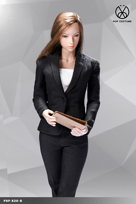 NEW PRODUCT: POPTOYS: 1/6 Office Girl - Women's Suit Set X29 Skirt & X30 Trousers 21473711