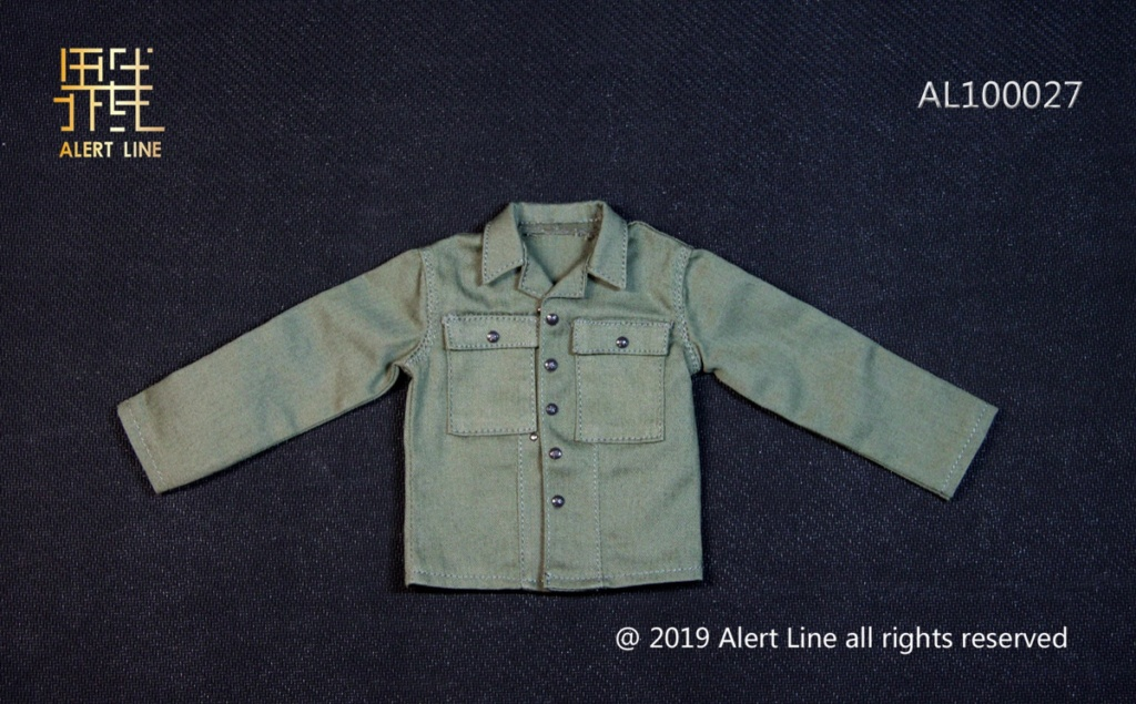 clothes - NEW PRODUCT: Alert Line: 1/6 WWII World War II US Army Equipment Set (AL100027#)  21481210