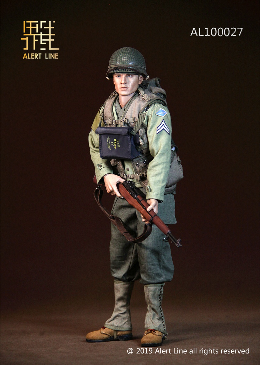 male - NEW PRODUCT: Alert Line: 1/6 WWII World War II US Army Equipment Set (AL100027#)  21503910
