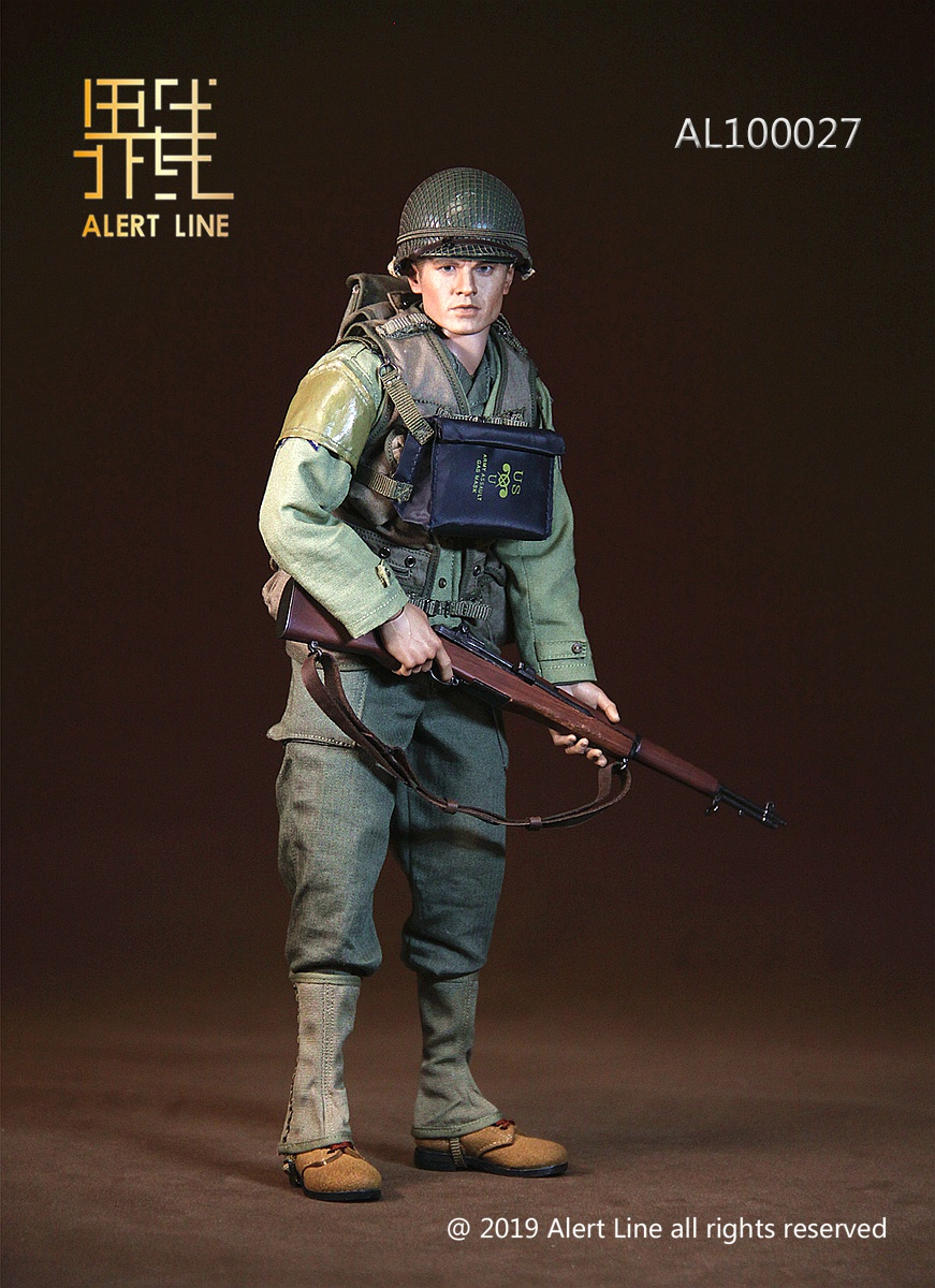 15 - NEW PRODUCT: Alert Line: 1/6 WWII World War II US Army Equipment Set (AL100027#)  21504010
