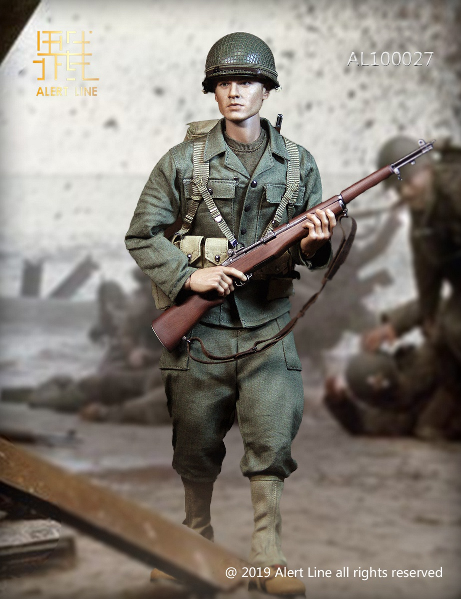 male - NEW PRODUCT: Alert Line: 1/6 WWII World War II US Army Equipment Set (AL100027#)  21504110