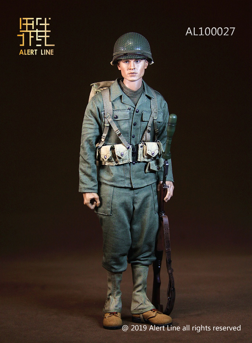 15 - NEW PRODUCT: Alert Line: 1/6 WWII World War II US Army Equipment Set (AL100027#)  21504210