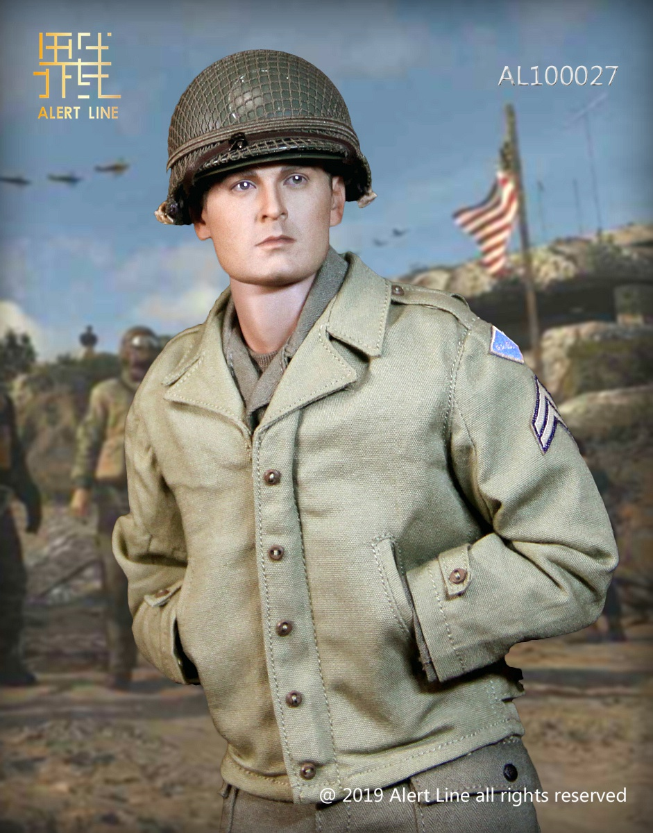 15 - NEW PRODUCT: Alert Line: 1/6 WWII World War II US Army Equipment Set (AL100027#)  21504411