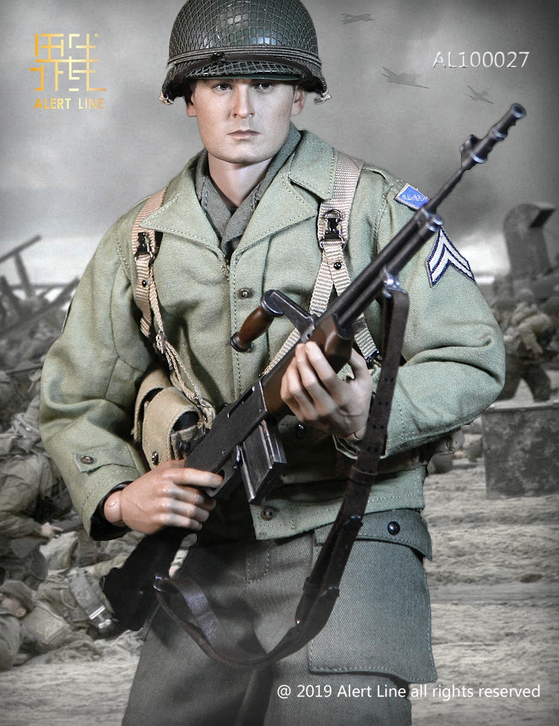 male - NEW PRODUCT: Alert Line: 1/6 WWII World War II US Army Equipment Set (AL100027#)  21504510