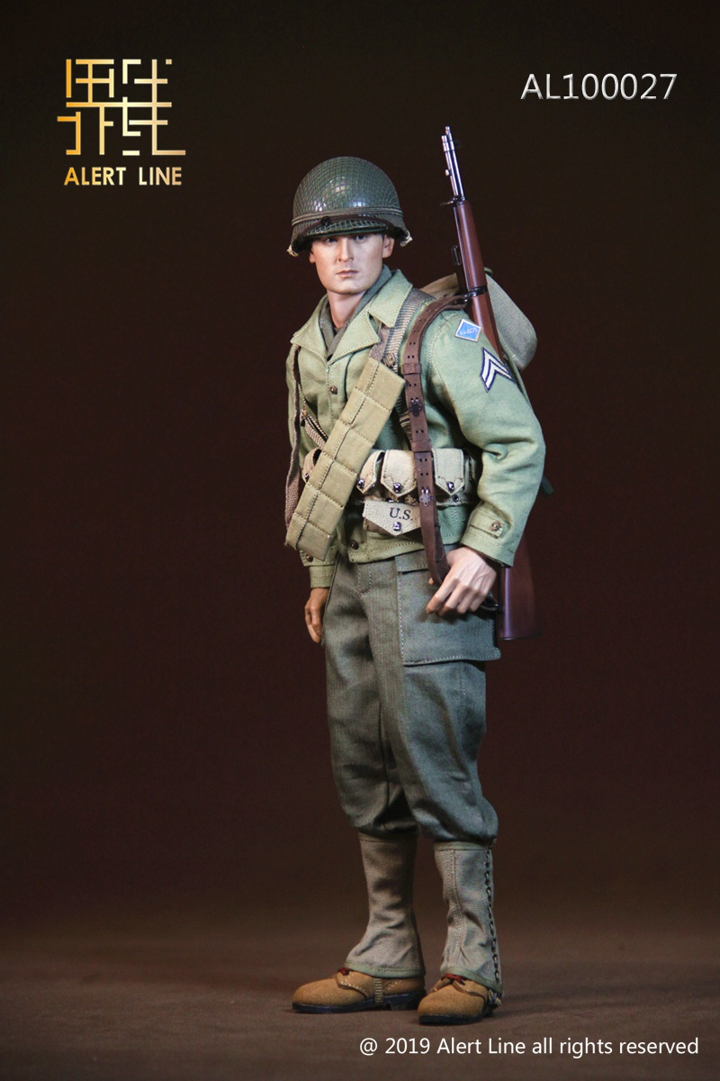 15 - NEW PRODUCT: Alert Line: 1/6 WWII World War II US Army Equipment Set (AL100027#)  21504511
