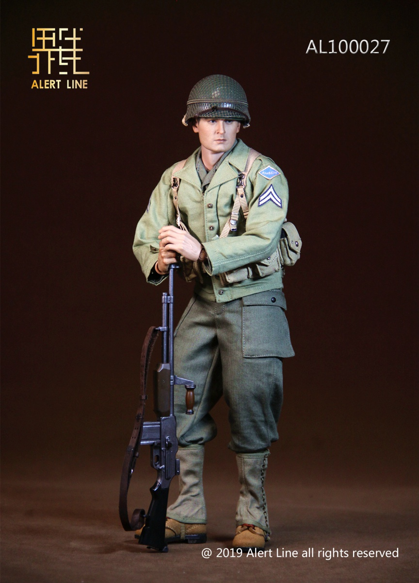 male - NEW PRODUCT: Alert Line: 1/6 WWII World War II US Army Equipment Set (AL100027#)  21504610