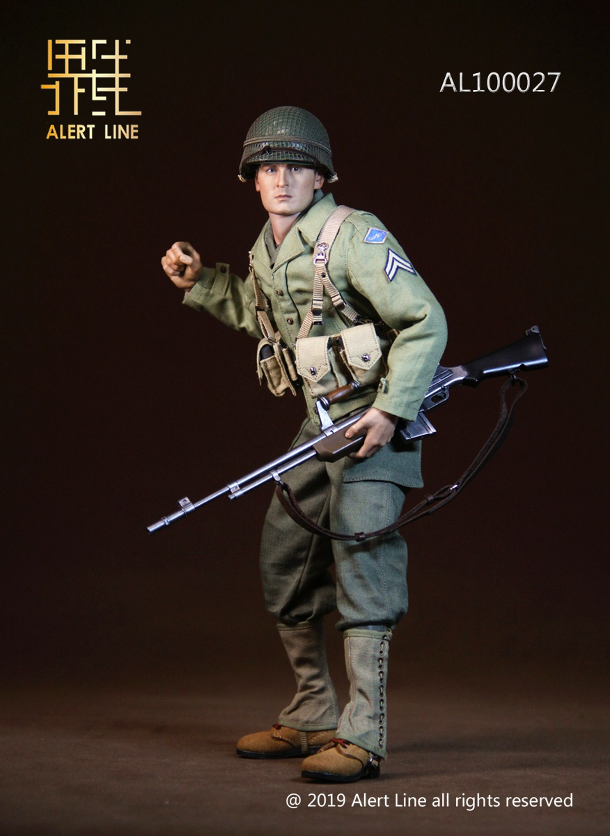 15 - NEW PRODUCT: Alert Line: 1/6 WWII World War II US Army Equipment Set (AL100027#)  21504611