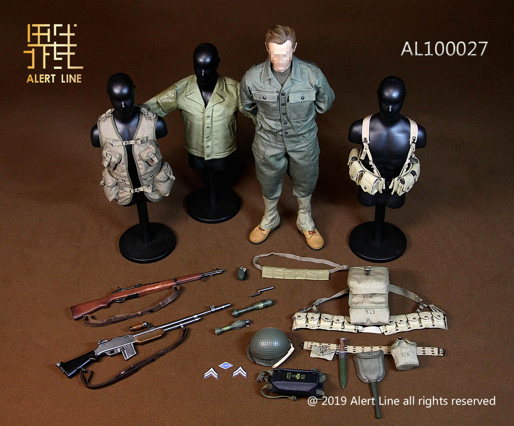 military - NEW PRODUCT: Alert Line: 1/6 WWII World War II US Army Equipment Set (AL100027#)  21504710