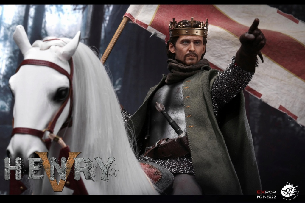 poptoys - NEW PRODUCT: POPTOYS: 1/6 EX22 King Henry V of England, double head sculptures & horse 21574810