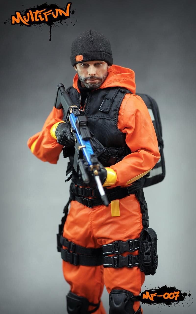 NEW PRODUCT: MULTIFUN 1/6th scale Quarantine Zone Agent 12-inch action figure Set 2160