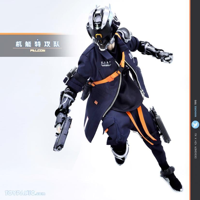stylized - NEW PRODUCT: Warhorse: 1/6 Cyberpunk Techgear - Falcon (Regular Version) & (Deluxe Version) 21620113