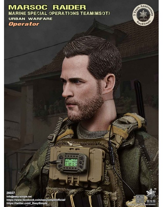 NEW PRODUCT: Easy & Simple 26027 1/6 Scale MARSOC Raider Urban Warfare Operator 22-52810
