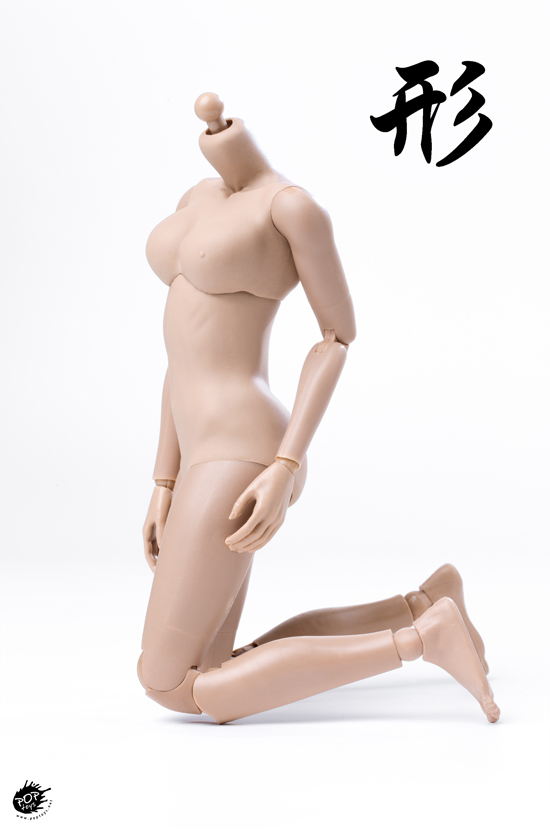 NEW PRODUCT: POPTOYS: 1 / 6 shape series [modified version] high movable female body - 92003 & 4 joint / 92005 & 6 plastic 22010010