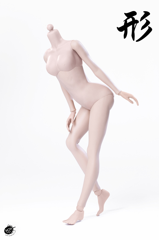 female - NEW PRODUCT: POPTOYS: 1 / 6 shape series [modified version] high movable female body - 92003 & 4 joint / 92005 & 6 plastic 22012011