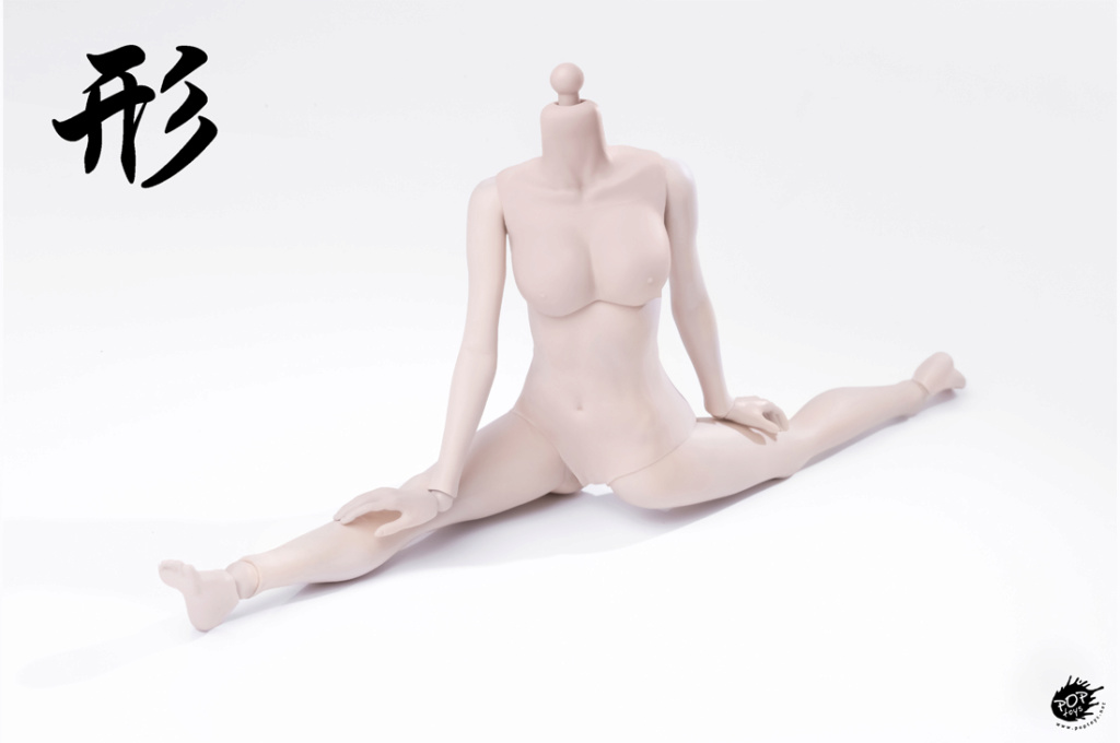 female - NEW PRODUCT: POPTOYS: 1 / 6 shape series [modified version] high movable female body - 92003 & 4 joint / 92005 & 6 plastic 22012012