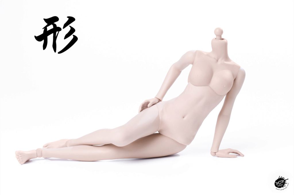 female - NEW PRODUCT: POPTOYS: 1 / 6 shape series [modified version] high movable female body - 92003 & 4 joint / 92005 & 6 plastic 22012211