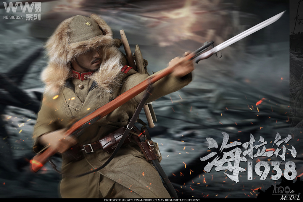 NEW PRODUCT: IQO Model: 1/6 WWII Series 1938 Hailar Scout (NO.91002A, B) 22024410