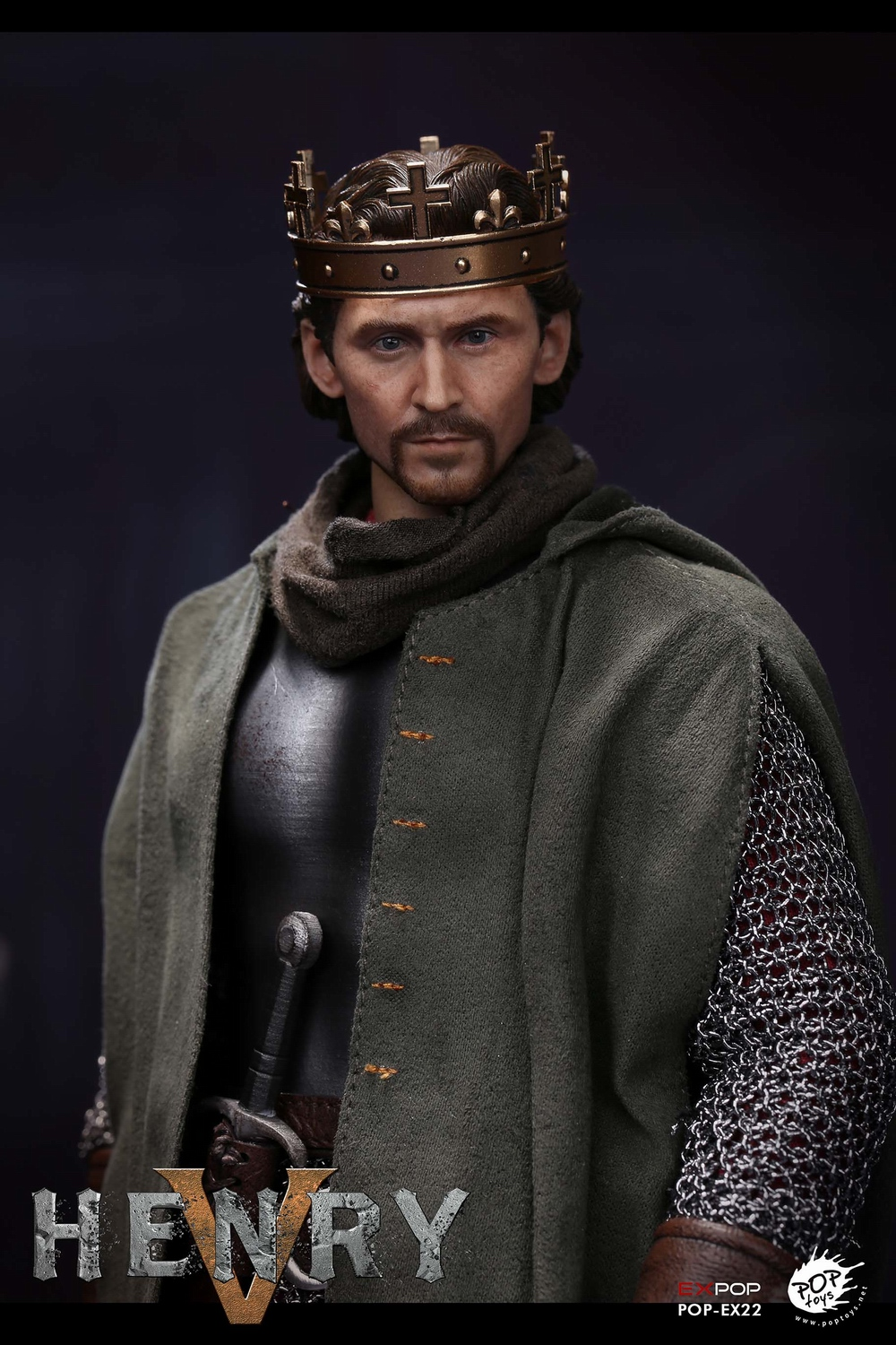 poptoys - NEW PRODUCT: POPTOYS: 1/6 EX22 King Henry V of England, double head sculptures & horse 22045610