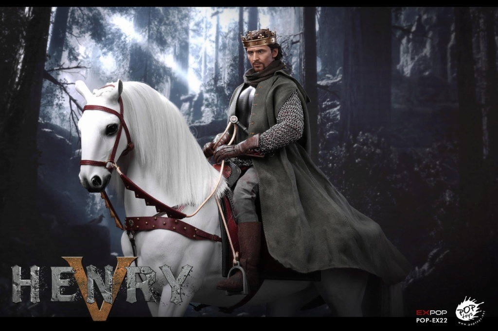 poptoys - NEW PRODUCT: POPTOYS: 1/6 EX22 King Henry V of England, double head sculptures & horse 22051510