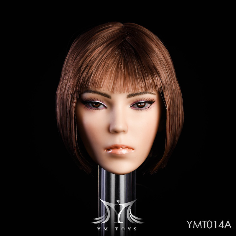 NEW PRODUCT: YMTOYS New 1/6 Mixed-race female head Fantasy YMT014 22060510
