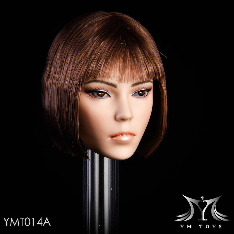NEW PRODUCT: YMTOYS New 1/6 Mixed-race female head Fantasy YMT014 22060511