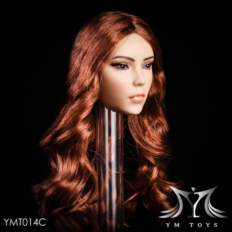NEW PRODUCT: YMTOYS New 1/6 Mixed-race female head Fantasy YMT014 22061111