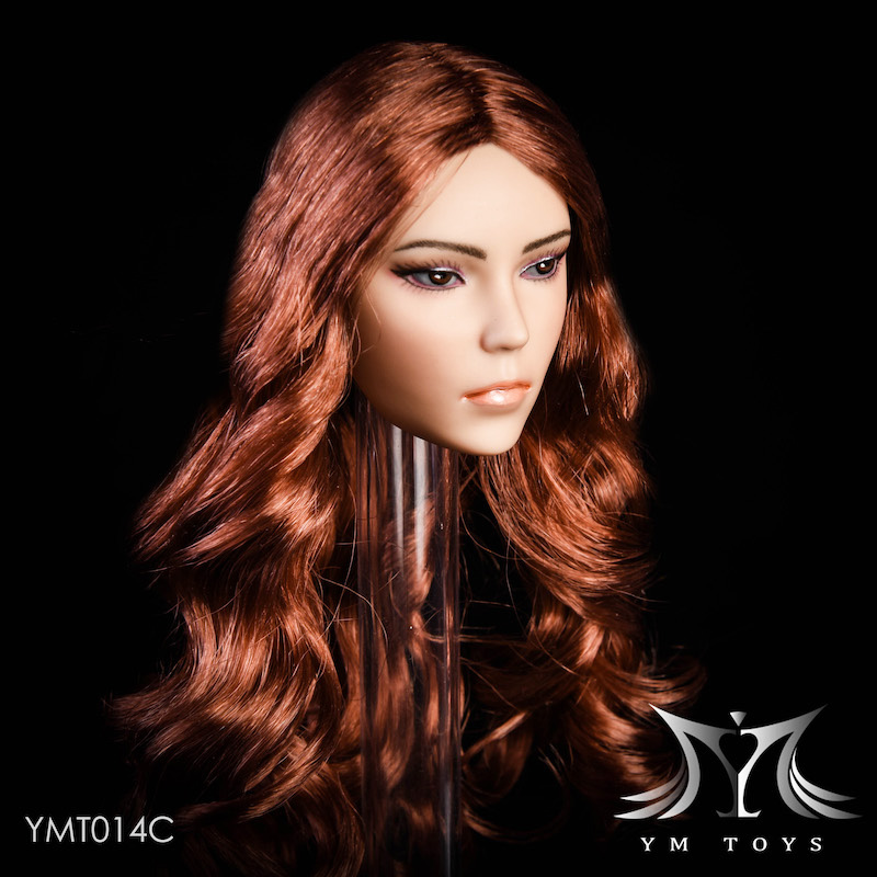 NEW PRODUCT: YMTOYS New 1/6 Mixed-race female head Fantasy YMT014 22061310