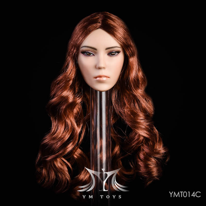 NEW PRODUCT: YMTOYS New 1/6 Mixed-race female head Fantasy YMT014 22061410