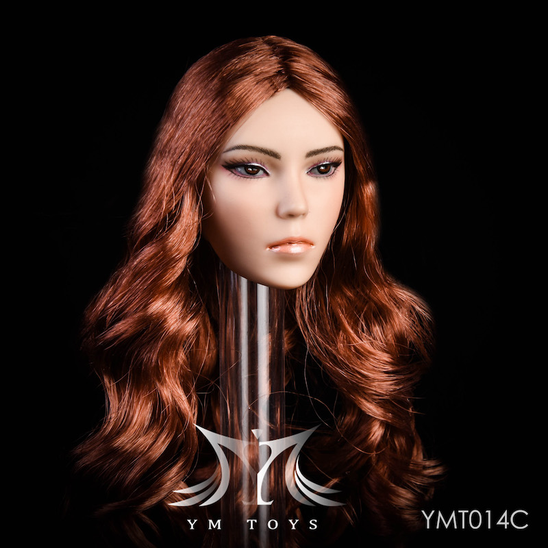 NEW PRODUCT: YMTOYS New 1/6 Mixed-race female head Fantasy YMT014 22061610