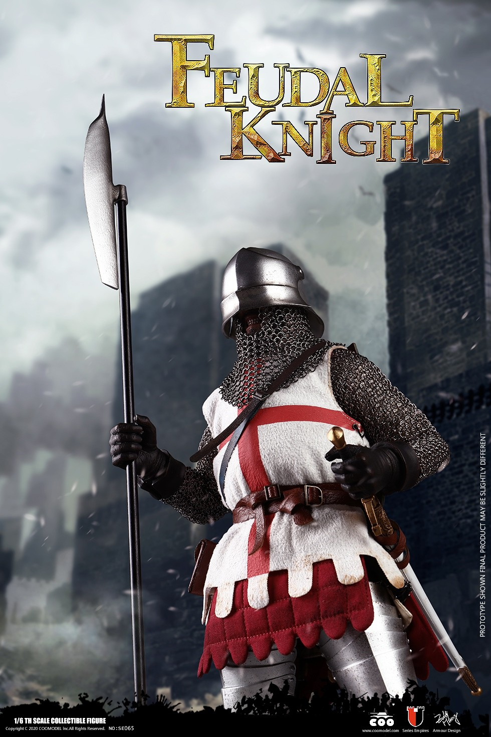 CooModel - NEW PRODUCT: COOMODEL: 1/6 Empire Series (Alloy Die Casting)-British Feudal Knight, Baron Knight, Order of the Sacred Garter Knights Set 22110711