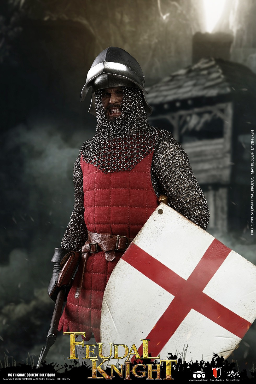 CooModel - NEW PRODUCT: COOMODEL: 1/6 Empire Series (Alloy Die Casting)-British Feudal Knight, Baron Knight, Order of the Sacred Garter Knights Set 22111210