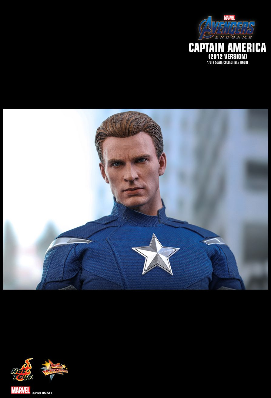 movie - NEW PRODUCT: HOT TOYS: AVENGERS: ENDGAME CAPTAIN AMERICA (2012 VERSION) 1/6TH SCALE COLLECTIBLE FIGURE 22120