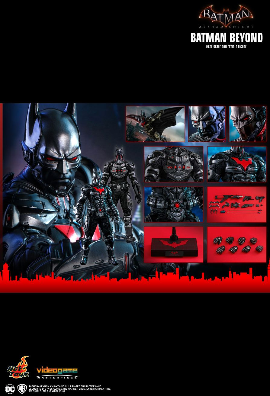 BatmanBeyond - NEW PRODUCT: HOT TOYS: BATMAN: ARKHAM KNIGHT BATMAN BEYOND 1/6TH SCALE COLLECTIBLE FIGURE 22125