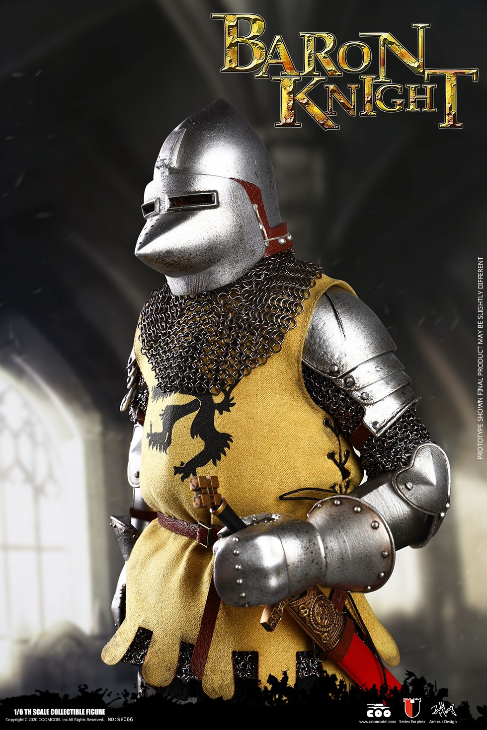 CooModel - NEW PRODUCT: COOMODEL: 1/6 Empire Series (Alloy Die Casting)-British Feudal Knight, Baron Knight, Order of the Sacred Garter Knights Set 22125410