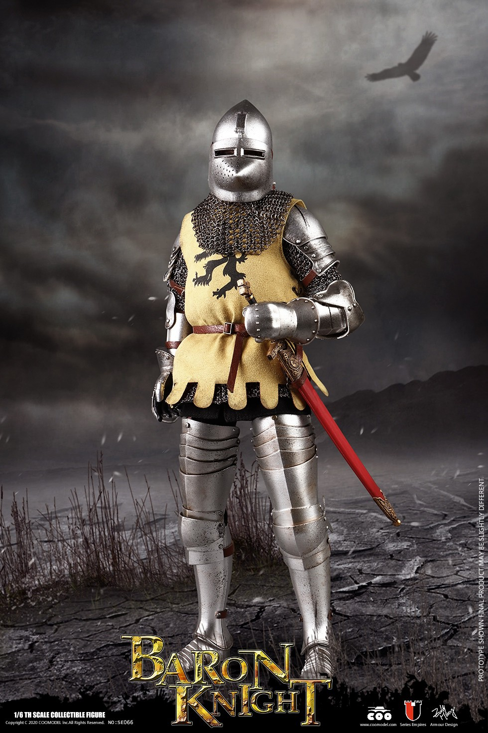 CooModel - NEW PRODUCT: COOMODEL: 1/6 Empire Series (Alloy Die Casting)-British Feudal Knight, Baron Knight, Order of the Sacred Garter Knights Set 22125510