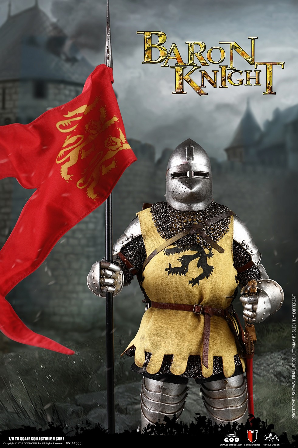 CooModel - NEW PRODUCT: COOMODEL: 1/6 Empire Series (Alloy Die Casting)-British Feudal Knight, Baron Knight, Order of the Sacred Garter Knights Set 22125511