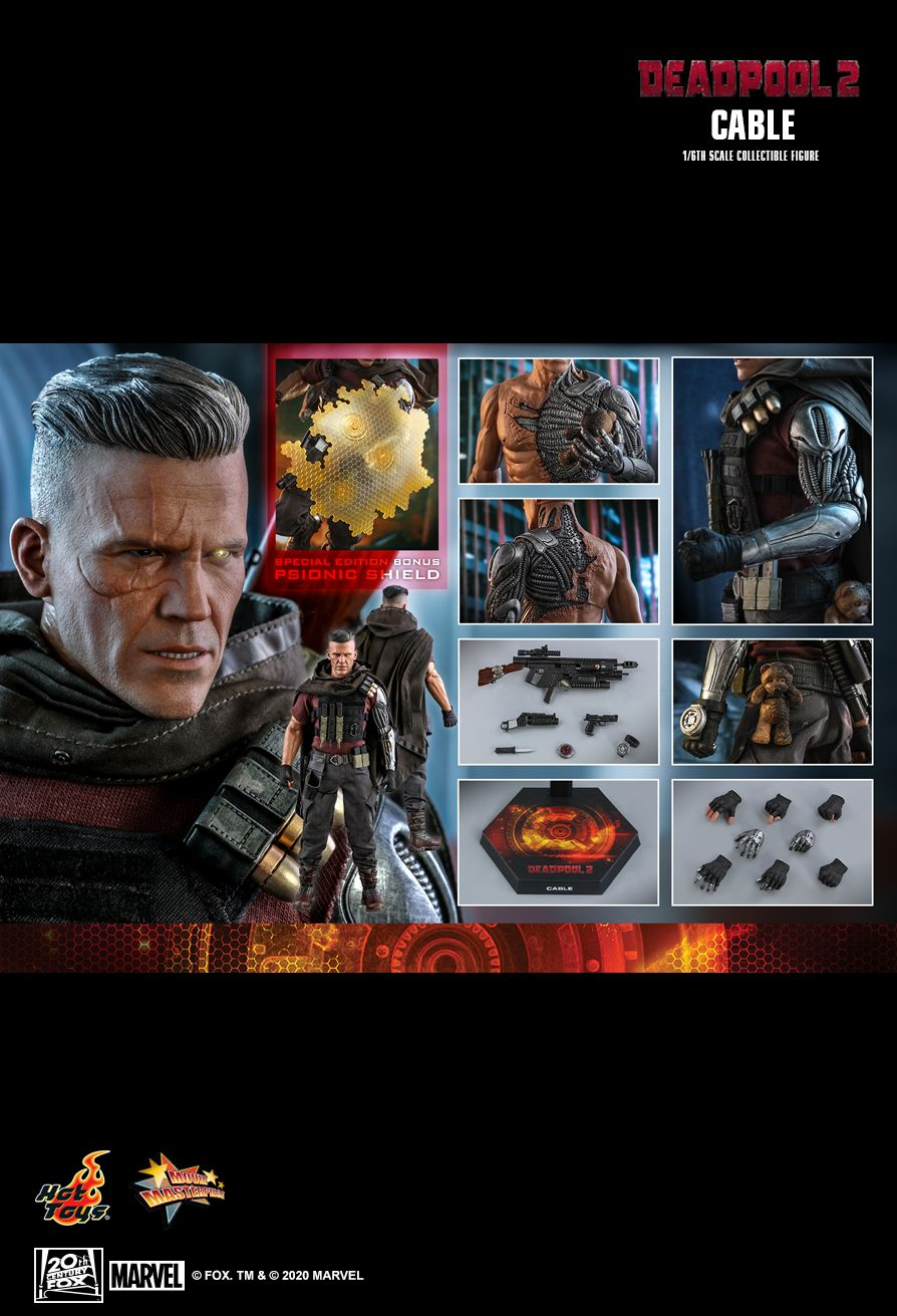 NEW PRODUCT: HOT TOYS: DEADPOOL 2 CABLE 1/6TH SCALE COLLECTIBLE FIGURE 22137