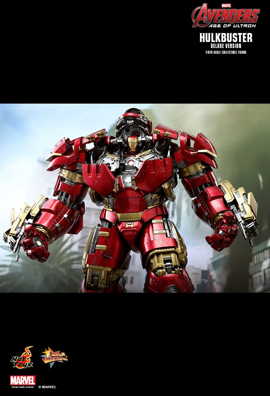 NEW PRODUCT: HOT TOYS: AVENGERS: AGE OF ULTRON HULKBUSTER (DELUXE VERSION) 1/6TH SCALE COLLECTIBLE FIGURE 2221