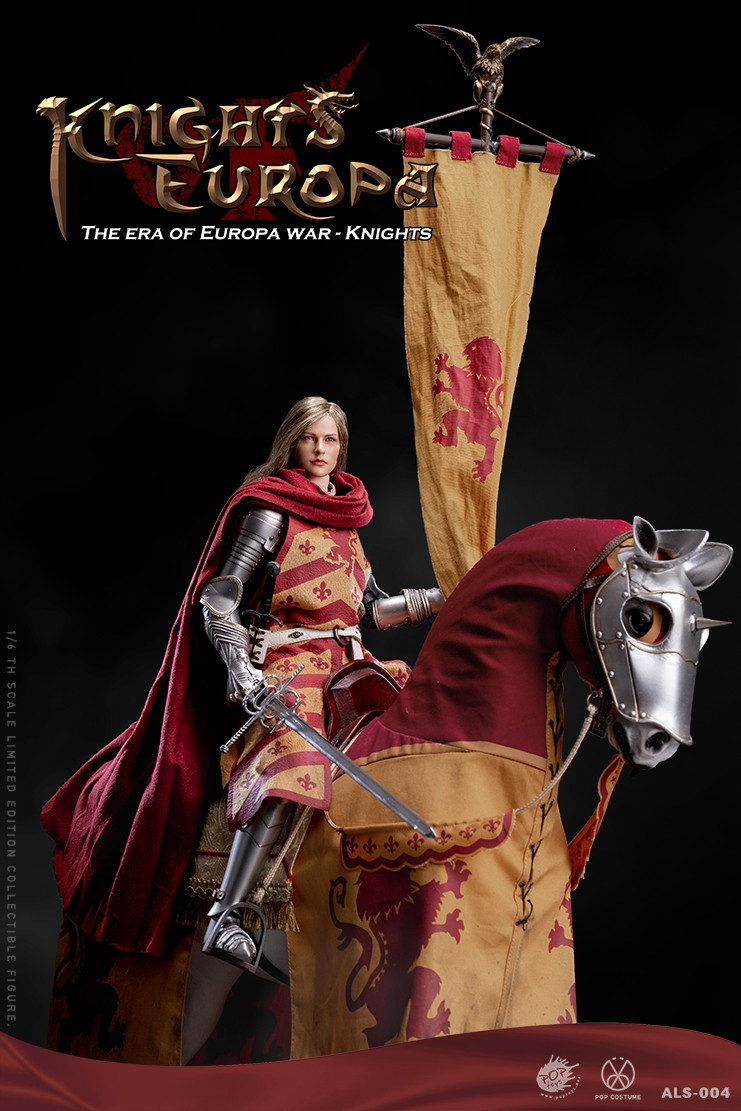 PopToys - NEW PRODUCT: POPTOYS: 1/6 Armored Series Europa Wars-(90% Alloy) Griffon Knight/Flying Dragon Knight & Warhorse 22233510
