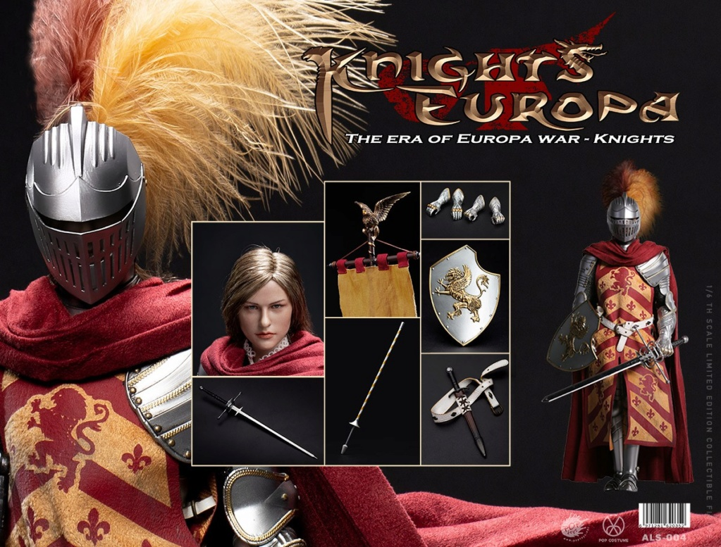 PopToys - NEW PRODUCT: POPTOYS: 1/6 Armored Series Europa Wars-(90% Alloy) Griffon Knight/Flying Dragon Knight & Warhorse 22262211
