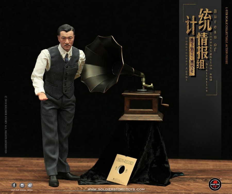 SoldierStory - NEW PRODUCT: SoldierStory new product: 1/6 World War II statistical intelligence group underground agent Fu Jingian - Shanghai 1942 (SS113#) 2229