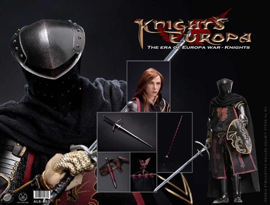 PopToys - NEW PRODUCT: POPTOYS: 1/6 Armored Series Europa Wars-(90% Alloy) Griffon Knight/Flying Dragon Knight & Warhorse 22294610