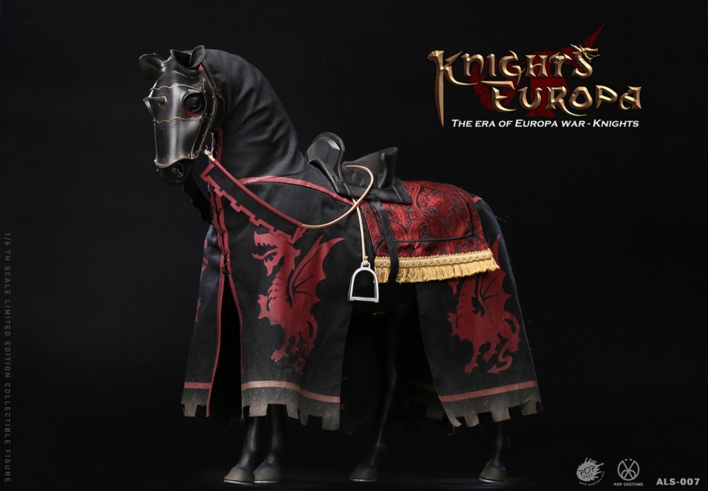PopToys - NEW PRODUCT: POPTOYS: 1/6 Armored Series Europa Wars-(90% Alloy) Griffon Knight/Flying Dragon Knight & Warhorse 22304810