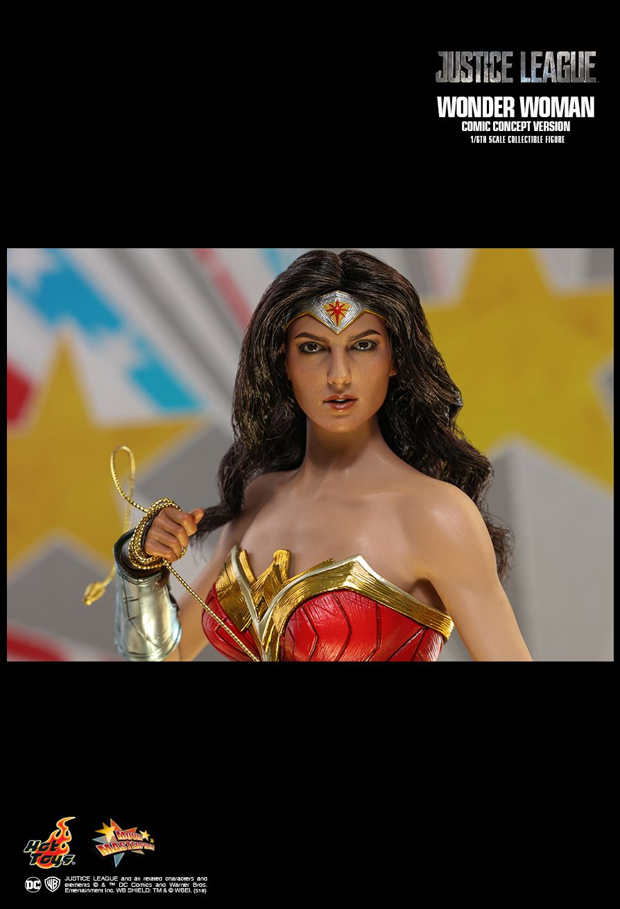 NEW PRODUCT: HOT TOYS: JUSTICE LEAGUE WONDER WOMAN (COMIC CONCEPT VERSION) 1/6TH SCALE COLLECTIBLE FIGURE 2231