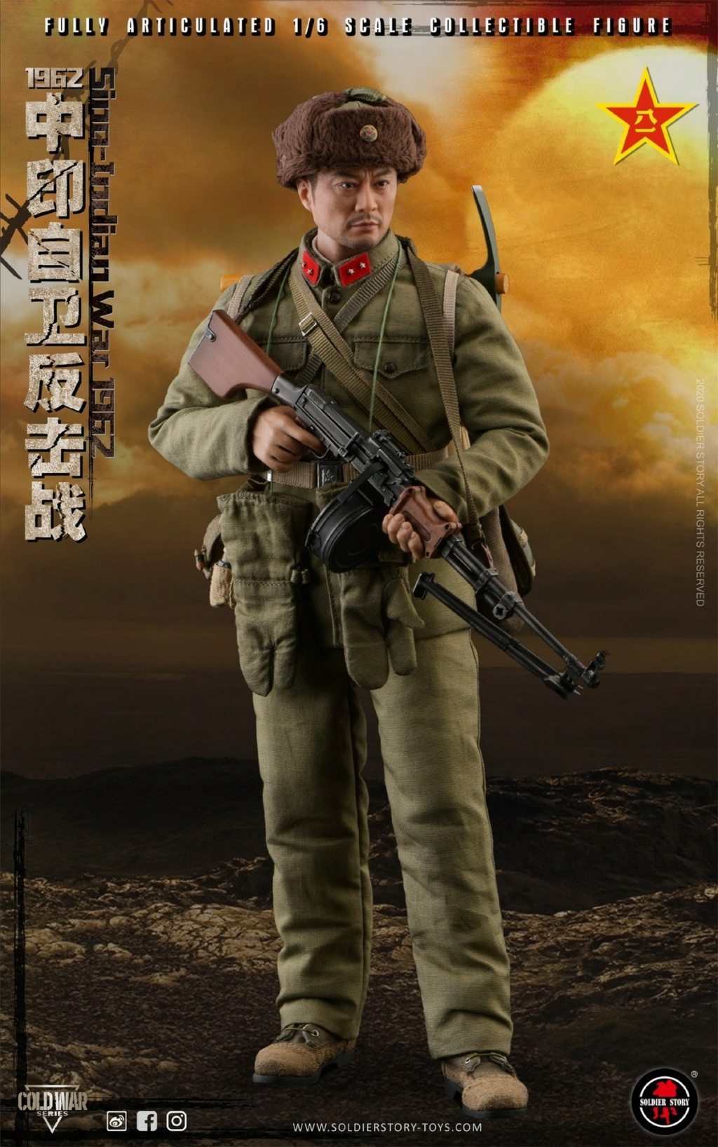 "NEW PRODUCT: SoldierStory: 1/6 ""1962 Sino-Indian Self-Defense Counterattack"" Action Figure #SS121 22315610"