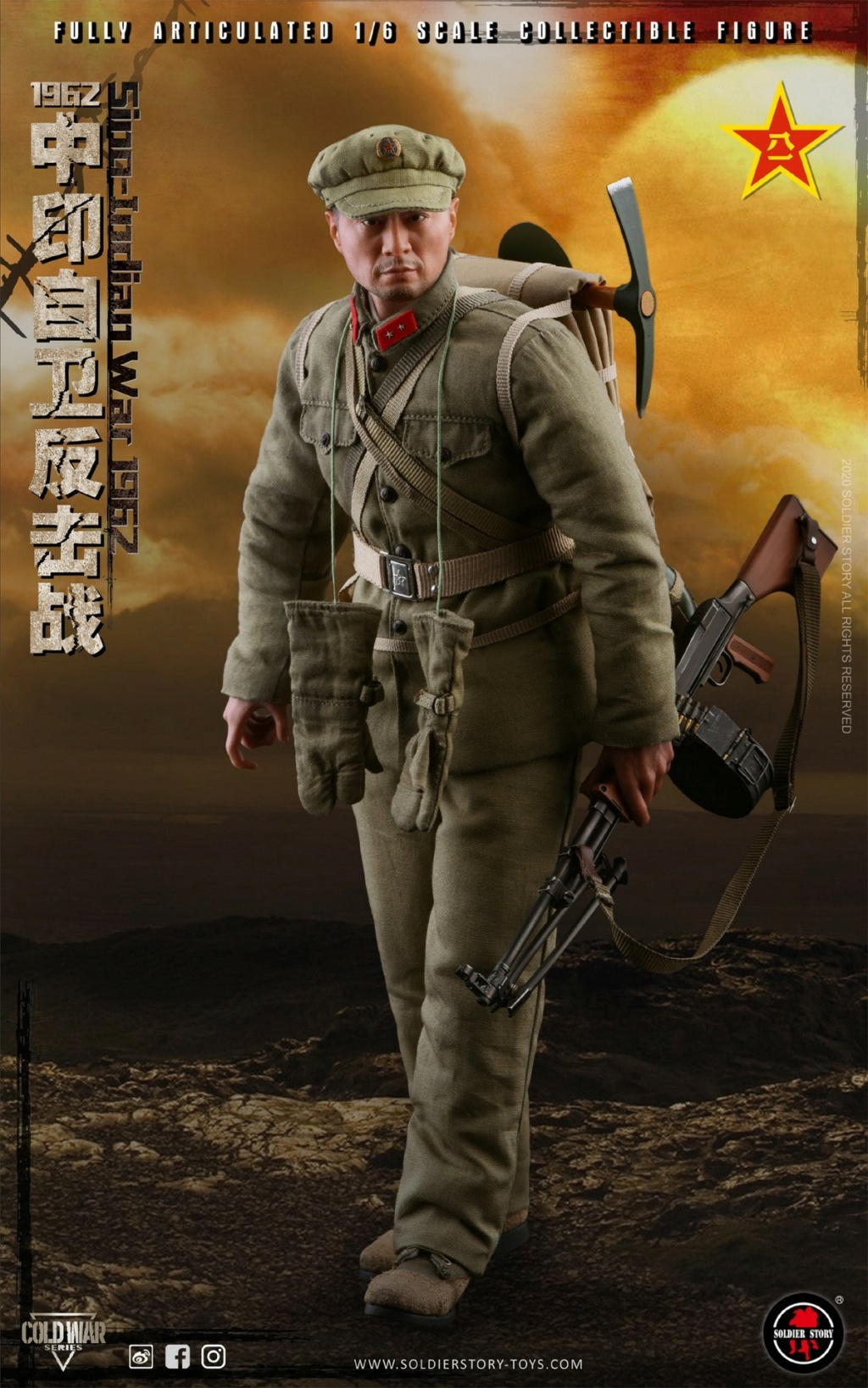 "NEW PRODUCT: SoldierStory: 1/6 ""1962 Sino-Indian Self-Defense Counterattack"" Action Figure #SS121 22323510"