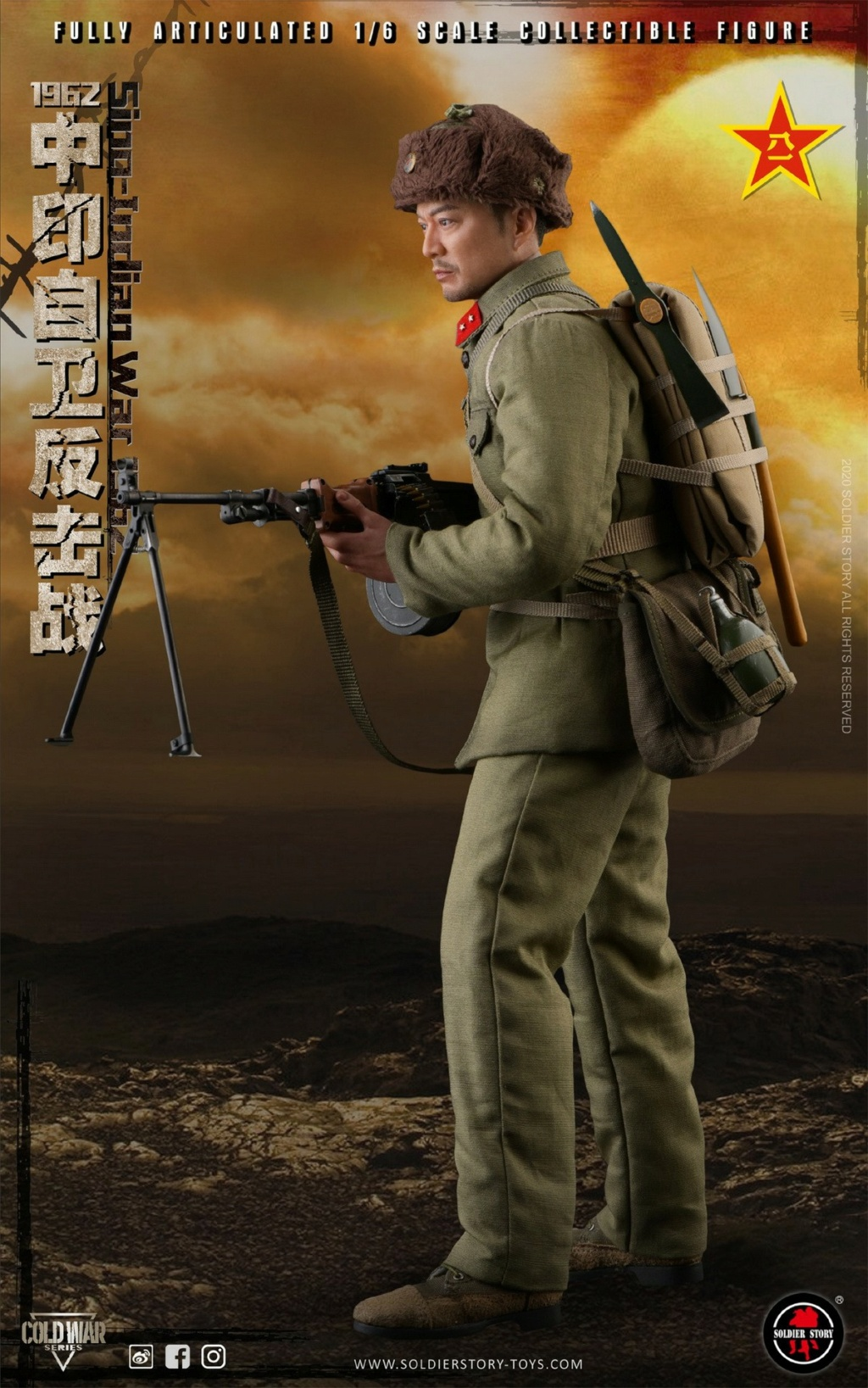 "NEW PRODUCT: SoldierStory: 1/6 ""1962 Sino-Indian Self-Defense Counterattack"" Action Figure #SS121 22324110"