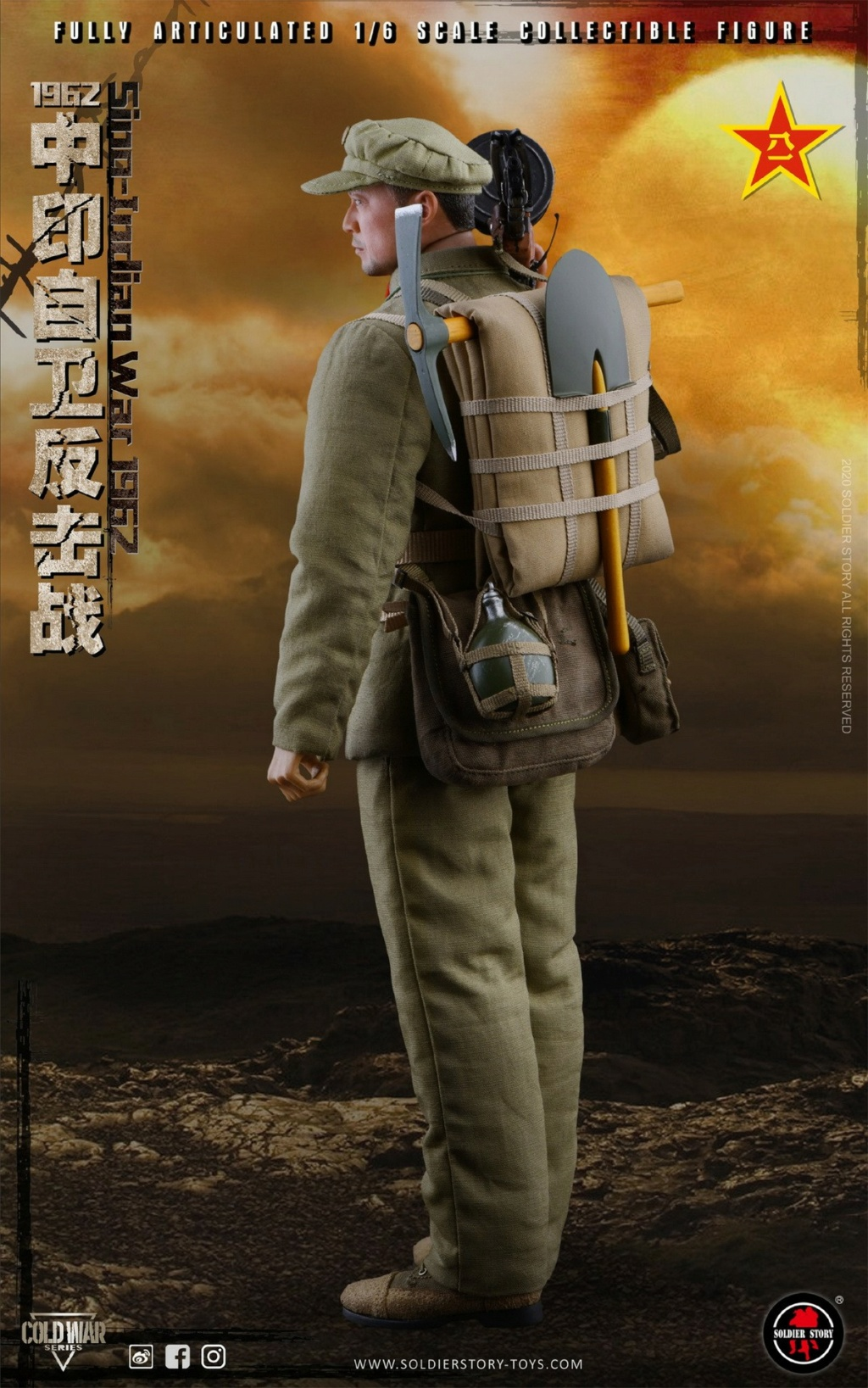 "NEW PRODUCT: SoldierStory: 1/6 ""1962 Sino-Indian Self-Defense Counterattack"" Action Figure #SS121 22325410"