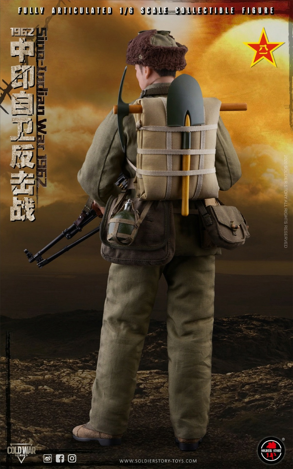 "NEW PRODUCT: SoldierStory: 1/6 ""1962 Sino-Indian Self-Defense Counterattack"" Action Figure #SS121 22330510"