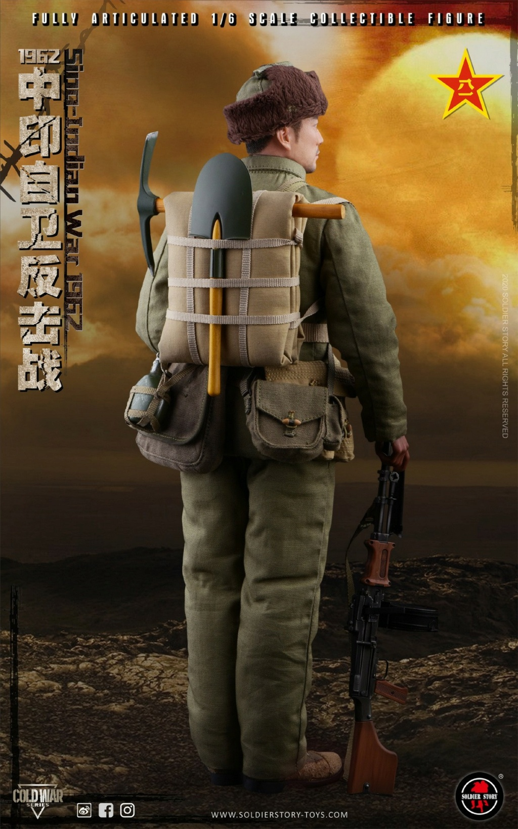 "NEW PRODUCT: SoldierStory: 1/6 ""1962 Sino-Indian Self-Defense Counterattack"" Action Figure #SS121 22332110"